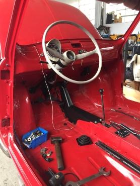 Original Steering Wheel and Odometer