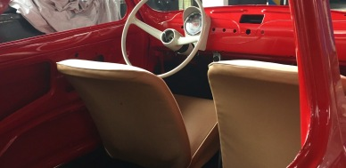 1968 Fiat 110F Berlina 500 During Restoration