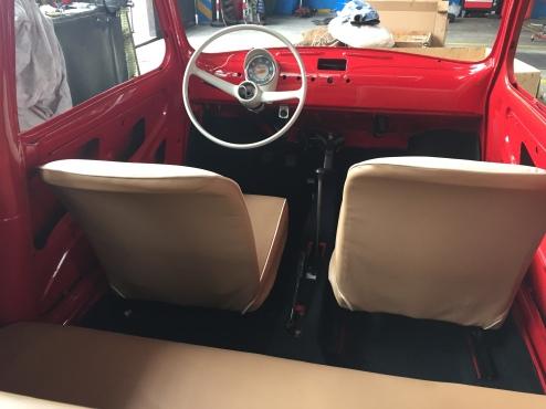 Original Steering Wheel, Speedometer & Beige Interiors